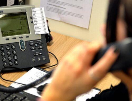 Obavijest o info telefonu i mogućnosti uvida u spis predmeta